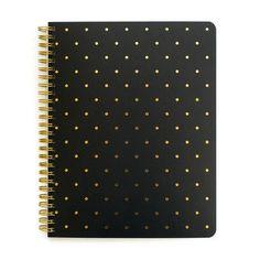 Perfect Dot Notebook, Black