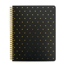 Perfect Dot Notebook, Black
