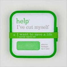 Droga5 Creative Invents Adhesive Bandages That Save Lives. Package donor kits with its adhesive bandage products. 뉴욕의 광고대행사 Droga5의 카피라이터 Graham Douglas가 만든 donor kit으로 안에는 16개의 반창고가 들어 있단다. 이 키트를 구입하면 골수가 필요한 사람을 도울 수 있단다. 백혈병 때문에 골수기증을 받은 적이 있는 쌍둥이 동생 때문에 만들게 된 프로젝트 킷.