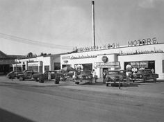 1949 - Studebaker Dealership I think in the Louisville KY area, with new '50 Studes: