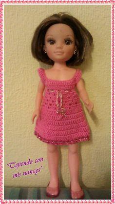 muñeca nancy vestidos crochet - Buscar con Google