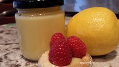 This homemade lemon curd or lemon cream recipe is perfect for adding to tarts and topping with fruit, or just eating this tangy sweet goo with a spoon! Gf Recipes, Tart Recipes, Cream Recipes, Baking Recipes, No Bake Desserts, Delicious Desserts, Dessert Recipes, Lemon Cream, Lemon Curd