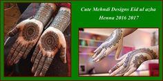 Cute Mehndi Designs Eid ul azha Henna 2016 2017