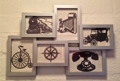 Vintage Image Collage by CleverMakings on Etsy, €42.00