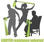 LIGHT TENSION EXERCISE RESISTANCE BANDS - Home Gym Fitness Equipment. Ideal For #ad
