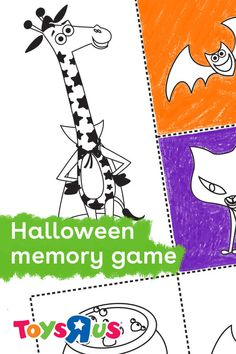 The spooky season is upon us! We've got a Halloween Memory game for parents looking for an easy-to-play activity for kids. Get 'em in the spirit, download your copy now!