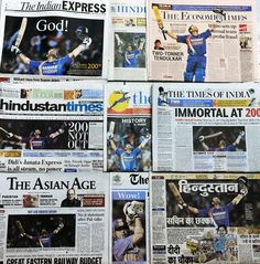 Headlines exposing corruption scandals don't sell as well as those about a Tendulkar milestone.