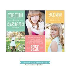 fall mini session photography marketing board newsletter template