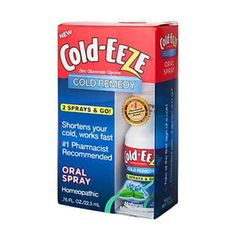 I'm learning all about Cold-eeze Remedy Homeopathic Oral Spray at @Influenster!