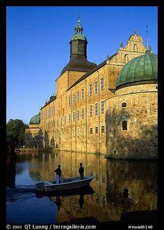 Renaissance castle Vadstena slott. Gotaland, Sweden