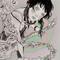 Pretty Art, Cute Art, Art Sketches, Art Drawings, Pop Art, Funky Art, Art Hoe, Looks Cool, Animes Wallpapers