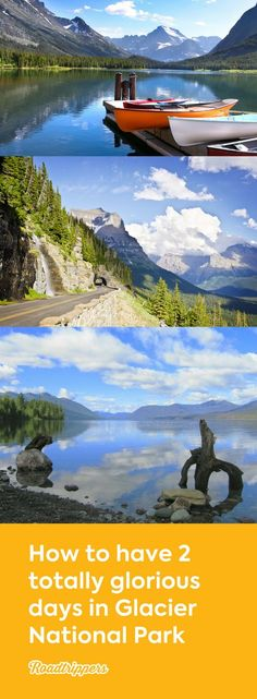 could definitely spend weeks at Glacier National Park, but if you only have 2 days. this is the guide for you!You could definitely spend weeks at Glacier National Park, but if you only have 2 days. this is the guide for you! Utah Parks, Glacier National Park Montana, Glacier Park, Glacier National Park Camping, Banff National Park, Monument Valley, Grand Canyon, Road Trip Across America, Escalante National Monument
