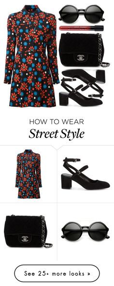 """street style"" by sisaez on Polyvore featuring Yves Saint Laurent, Rebecca Minkoff and Chanel"