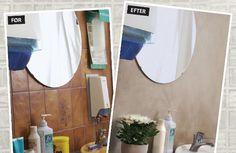 Hvis du er træt af de brune 70er fliser i køkken eller bad, kan du forny dine vægge med Multipuds. Læs mere om projektet her!