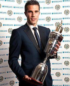 ROBIN VAN PERSIE was last night crowned PFA Player of the Year.