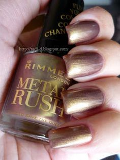 Rimmel - Gold Save the Queen