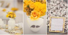 Color Inspiration Board # 39: Yellow, Grey & White Sand