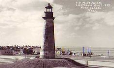 Texas Lighthouses | Old Point Isabel Lighthouse Built 1852, Port Isabel, Texas""