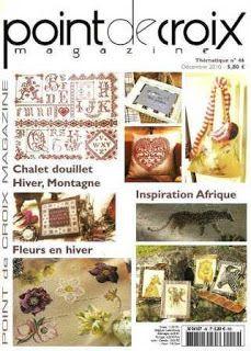 Журналы по вязанию и рукоделию.: Point de Croix Magazine Thematique №46 2010