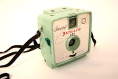 IMPERIAL SATELLITE 127 CAMERA Mint pastel Green by lavibohemme