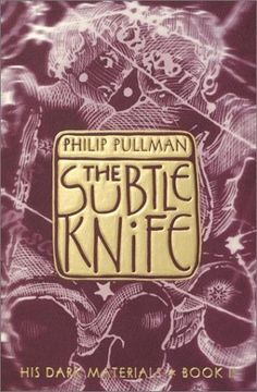 The Subtle Knife (book 2) by Philip Pullman - The His Dark Materials series was no.2 most frequently challenged book in 2008 according to the American Library Association's Office for Intellectual Freedom. Want to know why? See http://www.ala.org/bbooks/frequentlychallengedbooks/top10#2008