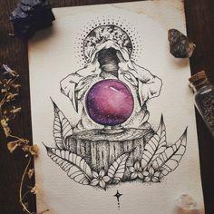 "luna-patchouli: ""Last nights doodlings!  for sale in my shop: https://www.etsy.com/shop/lunapatchouli ✨ """