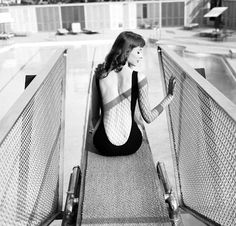 "Vikki ""The Back"" Dougan, 1957. She was the inspiration for the cartoon femme fatale, Jessica Rabbit"