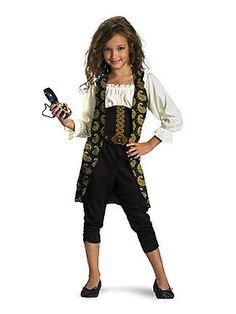Girls Classic Pirates of the Caribbean Angelica Costumeclass=