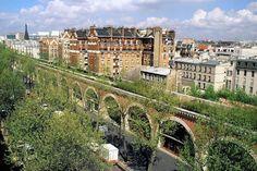 La promenade plantée qui survole Paris de Bastille à la Porte Dorée