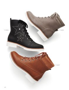 Boots - Coturno - Style - Fashion - Ref. 17-6955 - 17.6956 -17-9657