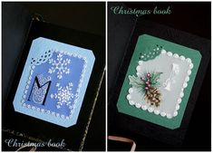 Parchment Craft Christmas Book!
