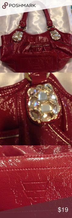 21423ec536a Kathy Van Zeeland dark pink purse Very beautiful shiny magenta Kathy van  Zeeland purse Kathy Van