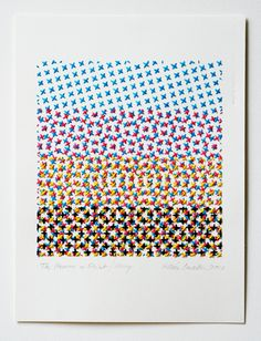 CMYK embroidery - Evelin Kasikov – CMYK embroidery and Typographic Design – London