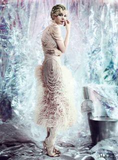 Behind the Scenes of Carey Mulligan's new Vogue Shoot