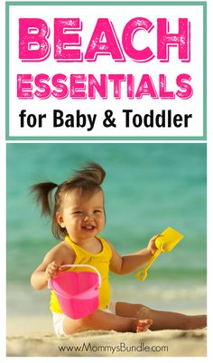 10 Beach Essentials For Baby And Toddler