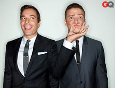 Jimmy Fallon and Justin Timberlake <3