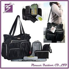 5pc/Set Baby Changing Diaper Nappy Mummy Mother Handbag Multifunctional Bags Baby Diaper Bags