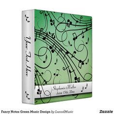 Fancy Notes Green Mu