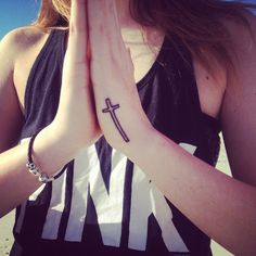 #tattoos #cross