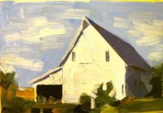 """There is so much terrific, affordable art at this site. It's a wonder everyone doesn't have some original art in their house.  """"DeSoto, KS Barn"""" - Original Fine Art for Sale - © Sean Dietrich"""