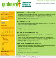 Page Back, Gardening Blogs, Main Page, Compost, Nerd, Composters, Geek