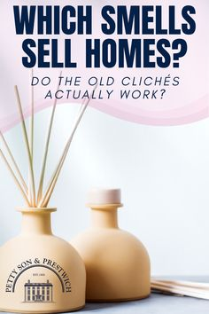 Read about Do Smells Sell Homes? The Top 5 Scents For Property Viewings. Moving House Tips, Moving Home, Moving Day, Best Home Fragrance, Best Fragrances, Real Estate Staging, Selling Real Estate, Home Staging Tips, Interior Design Advice