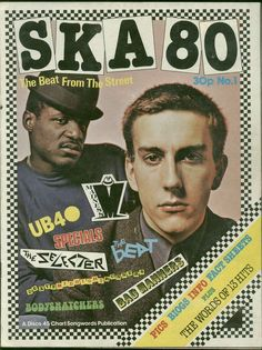 I like this front cover as it represents the ska genre of music very well…