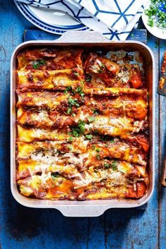 Pasta Recipes, Beef Recipes, Vegetarian Recipes, Dinner Recipes, Spinach Cannelloni, Cannelloni Recipes, Greek Spinach Pie, Spinach And Cheese, Kitchens