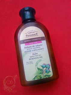Gótka bloguje: Balsam do włosów przeciw wypadaniu olejek łopianow...