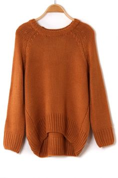 c9b7abac67a Green Round Neck Long Sleeve Hollow Sweater. See more. Back Pleat sweater  Big Comfy Sweaters