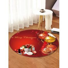 twinkledeals Christmas Rugs, Christmas Gifts, Christmas Ornaments, Round Area Rugs, Carpet, Bulb, Flooring, 3d, Holiday Decor