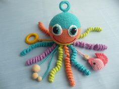 Pokemon Crochet Pattern, Pikachu Crochet, Crochet Fish, Crochet Octopus, Crochet Baby Toys, Crochet Gifts, Baby Knitting, Crochet Patterns, Organic Baby Toys