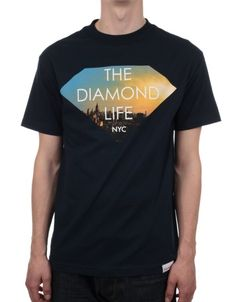 DIAMOND SUPPLY HUNTERS TEE SZ L WHITE CAMO DUCKS DMNDHNTWHT