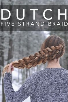 Dutch Five Strand Braid done right on @braidsbyjordan who is wearing her Dirty Blonde Luxy Hair Extensions to add highlights, thickness and length to this impressive hairstyle <3 #LuxyHairExtensions